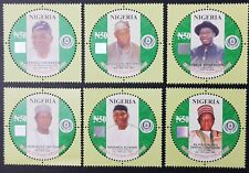 NIGERIA 2014 - CENTENARY ANNIVERSARY 1914 2014 ICONS LEADERS SHORT SET RARE MNH