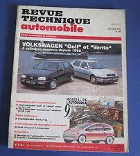Revue technique  RTA 544 Volkswagen golf & vento 4 cyl. essence depuis 1992