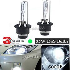 2X NEW D4S 6000K DIAMOND WHITE OEM HID Replacement HEADLIGHT XENON LIGHT BULB PQ