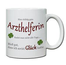 """Tasse """" Eine richtig gute Arzthelferin...."""" Geschenk, Dank, Praxis, Arzt, Ärztin"""