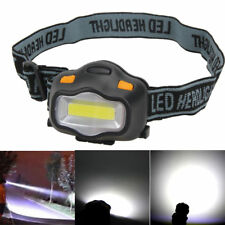 Neu 12 COB LED 3 Modes Headlight Fishing Camping Riding Outdoor Head Lamp Torch