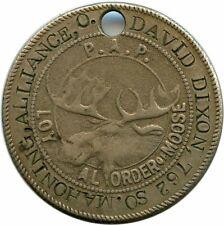 David Dixon 762, So. Mahoning Alliance, Ohio Oh Loyal Order of Moose Token Tag