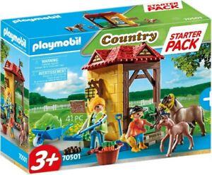 Playmobil - Starter Pack Horse Farm PMB70501