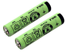 2 AAA Batterie cellules Braun Cruzer 1, 2, 3, 4, 5 et Cruzer 6 | z20 z30 z40 z50