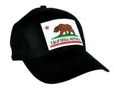 California Republic Flag Bear Hat Baseball Cap Alternative Clothing So Cal Pride