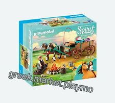 PLAYMOBIL  9477 western wagon wild west horses retired NEW BOXED