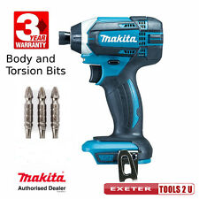 Makita DTD152Z 18v LXT impact driver bare unit + torsion vis bits