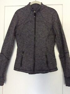 Lululemon Size 8 Women's Jacket Heathered Black