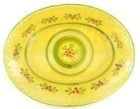 """Williams Sonoma Ceramiche Toscane Large Oval 19""""x15"""" Platter Hand Painted Italy"""