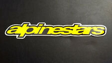 ALPINESTARS Logo Sticker Decal Y2 Motorcycle MX ATV BMX Mountain Bike MTB ASTARS