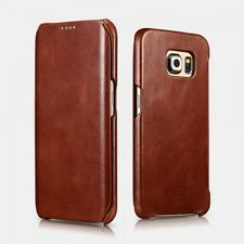 Samsung Galaxy S6 Leather Case Vintage Brown