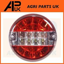 12V LED Round Rear Brake Tail Light Lamp Ifor Williams Brian James Trailer