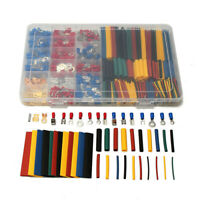 678Pcs Car Wire Electrical Set - 350 Terminals Connectors + 328 Heat Shrink Tube