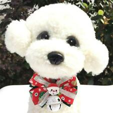 Pet Dog Cat Christmas Costume Bow Tie Collars With Ring Bell For Pet Cat Dog