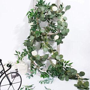 Trailing Ivy Vine Leaf 2M Hanging Garland GreeneryPlantFakeFoliageArtificial#SO