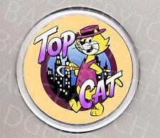 TOP CAT round COASTER - RETRO CLASSIC!