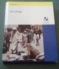Grantham University Sociology Volume 1 Hardback Pearson/Prentice Hall Textbook