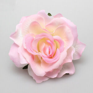 1Pcs Bridal Wedding Rose Flower Hairpin Brooch Hair Clip Party Hair Accessories
