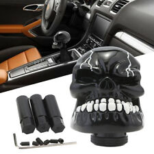 5Speed Skull Head Stick Car Manual Gear Knob Shift Shifter Resin Craft Universal
