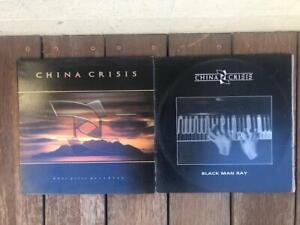 "Bulk Lot of China Crisis Records LP Record Collection  + 12"" Maxi Single"
