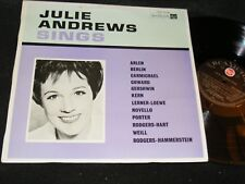 Made in New Zealand LP JULIE ANDREWS SINGS Rca Victor MONO 1966 Female Vocals