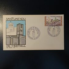 Andorra French N°257 on Letter Cover 1ER Day FDC