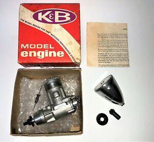 K&B 40 S Schnuerle Pylon Ringed Engine with 2'' Aluminum Spinner