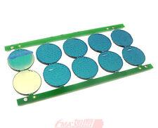 12Pcs Protection Circuit Module 18650 18500 Li-ion Battery PCM BMS D:17mm SM869