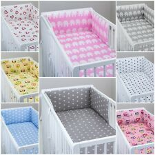 COT BUMPER STRAIGHT high quality FILLED PADDED LOTS OF PATTERNS FOR COT/COT BED