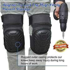 Construction Silicone Knee Pads Safety Leg Protectors Work Comfort Pair