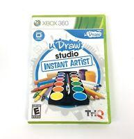 Xbox 360 UDraw Studio Instant Artist Microsoft