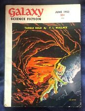 Vintage June 1953 Galaxy Science Fiction Magazine! Colony by Philip K. Dick!