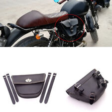 ATV Bike Triangle Motorcycle Side Bag Tool Storage Bag For Cafe Racer ATV Custom