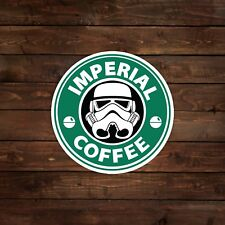 Imperial Coffee (Star Wars) Decal/Sticker