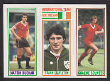 Topps - Footballers (Blue Back) 1981 - # 49 69 187 Liverpool Manchester United