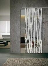 """Glass Sliding Door  """" Bamboo """" Glass 8 mm (640 x 2050 ) with Pull Bar T handles"""