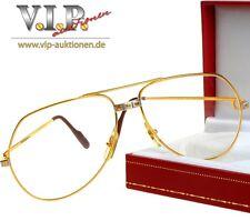 Cartier Santos Lunettes Lunettes de Soleil Glasses Sunglasses Occhiali lunettes vintage *