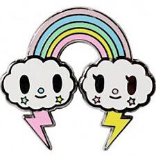 "NEW TOKIDOKI Pastel Pop ""RAINBOW"" Enamel Pin- Sale"