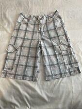 Nss Boys Gray Cargo Skate Shorts Size 14