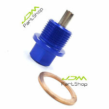 M20 x 1.5 Magnetic Oil Sump Plug Nut For Classic Bug-eye Blob-eye Hawk-eye blue