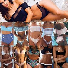 S-XXL Costume Donna Bikini Set fascia Push imbottito Bagno Vestito spiaggia Lot