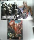 Final Fantasy XII Official Strategy Guide Art Collection w/ Map FREE SHIPPING