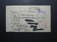 India 1943 Forces Cover / Censored / APO 304 Bombay Navy - Z12381