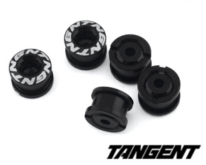 New Tangent BLACK BMX Racing Chainring Bolts 5 pack 4mm