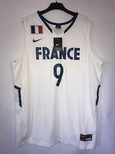 Nike France Tony Parker #9 Basketball Trikot  Größe XL