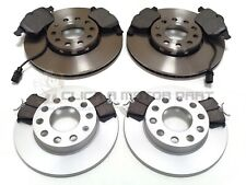 AUDI A4 B7 2.0 TDi 2005-2007 FRONT AND REAR BRAKE DISCS & PADS CHECK SIZE