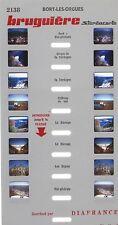 Stereocarte Bruguière n°2138 - Bort-Les-Orgues  - 8 Vues - Diafrance