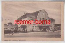 74074 Ak Hannover Bahnhof Leinhausen 1925