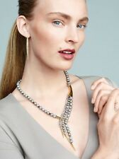 AMAZING Alexis Bittar Miss Havisham Gold Pearl And Spear Capped Draped Necklace