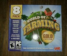 World of Farming: Gold Edition 8 Complete Games NEW